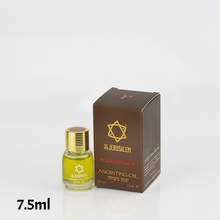 The New Jerusalem Biblical Anointing Oil Hand Made in Israel 1/4 oz - 7.5 ml - 15 scents available