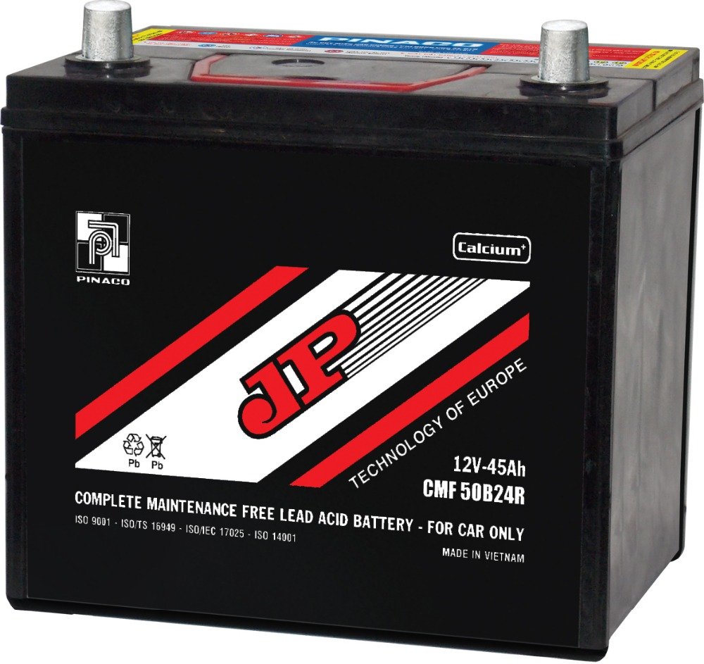 Maintenance Free Battery - CMF 55B24R (12V - 52Ah)