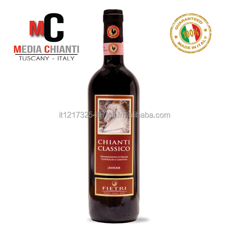 Superb Quality Italian CHIANTI CLASSICO D.O.C.G. - RED WINE - Vintage 2009