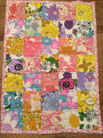 New indian handmade patchwork quilt and unique design patchwork qult Vintage Retro Doll Quilt