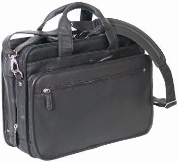 20 inch Men Leather Messenger Laptop Bag