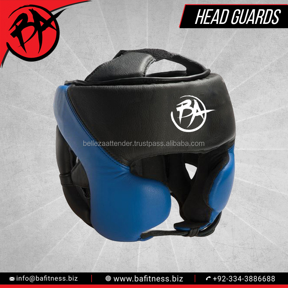 Boxing Artificial Leather Head Guard