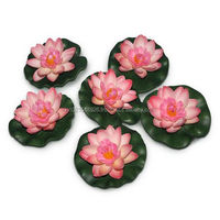 artificial flower lotus for decoration