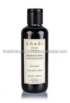 Khadi Natural Herbal Shikakai & Honey Shampoo - SLS & Paraben Free