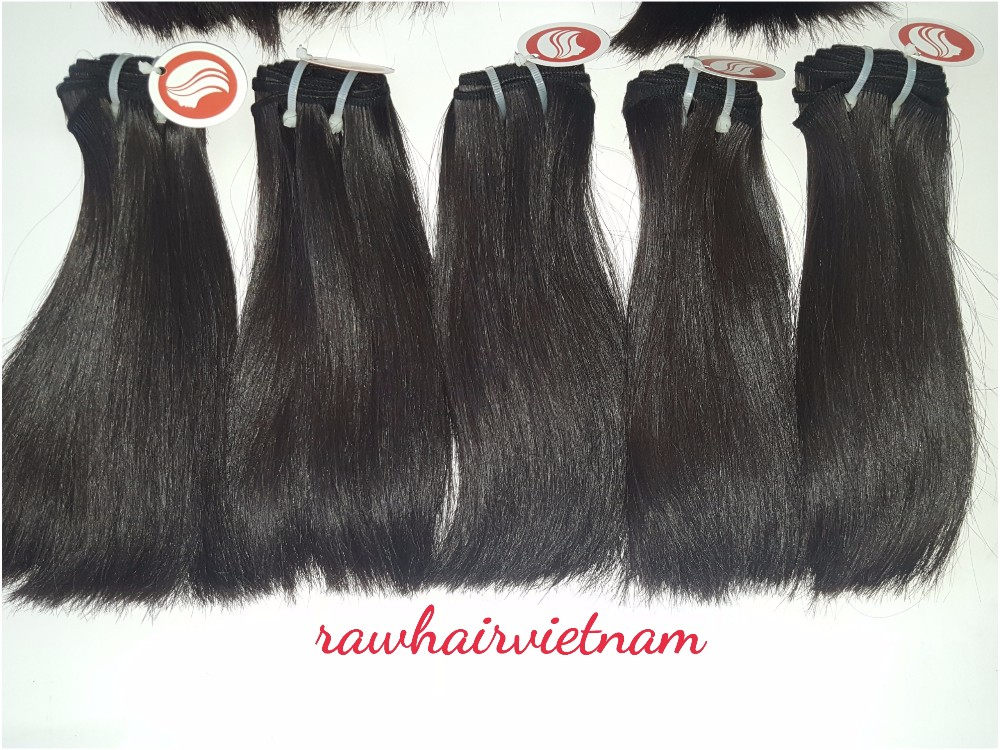 top quality 100g/pac 8''-32'' virgin remy double drawn straight human hair extension