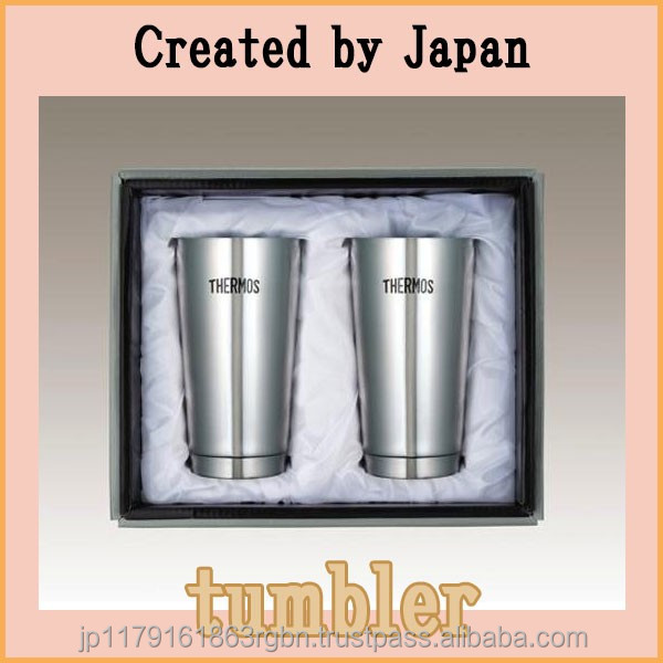 Lightweight and Functional THERMOS stainless steel tumbler set for daily use
