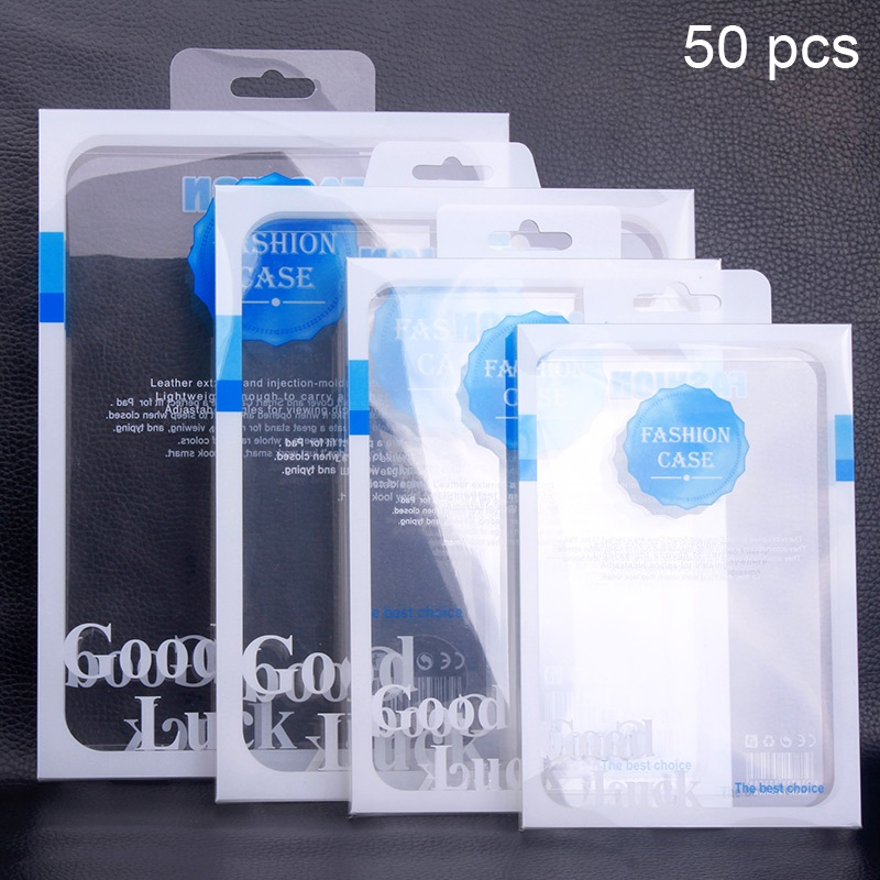 50Pcs/Lot PVC Packaging Box for iPad mini 4, OEM Package Bag for Galaxy Tab 3 Cases, Wholeale Phone Case Customized Packing