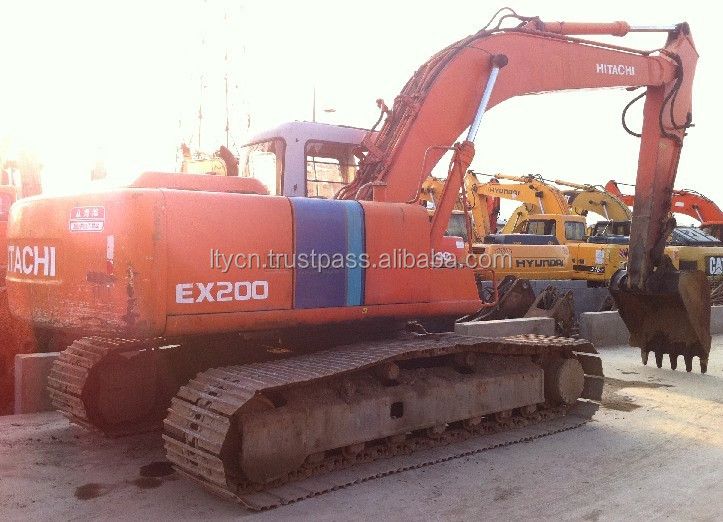 20 TON USED old japan HITACHI EX200-1 EXCAVATOR digger for sale
