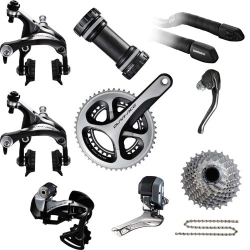 Hot selling Dura-Ace DI2 9071 TT Groupset 2017