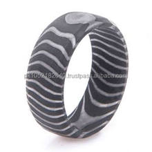 Damascus Steel beautiful Style Gift Finger Ring