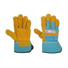 COWHIDE SPLIT LEATHER WORKING GLOVES/CANADIAN RIGGER GLOVES