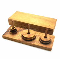 Tower of Hanoi pyramid puzzles,Classic Wooden Games and Toys,Interlocking Puzzles,Kid Crafts,Handmade toy