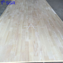 Rubber wood finger joint board for Europe market/rubber wood panel