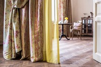 Curtain and sheer curtain fabrics and ready-mades