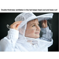 Kids Professional Beekeeping Jacket and Veil Bee Dress Smock Equip Protective Jacket
