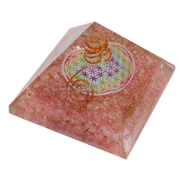 Orgone Pyramids with Chakra Symbol Wholesale : Orgone for Sale