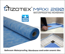 3 Layers Light Weighted Polypropylene Polyurethane Spunbond Waterproofing Membrane under ceramics at Bathroom or House Wrap PP