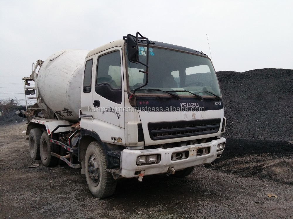 Used cheap Hot sale Mini pump concrete truck concrete mixer truck