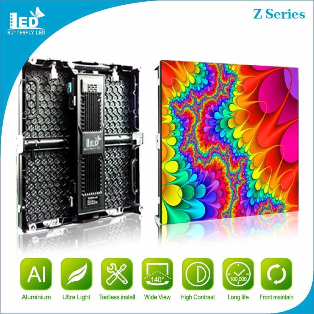 Best selling rental screen Indoor Ultra Light LED Display full color Video wall P3.91