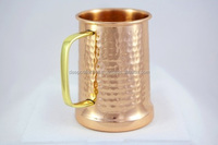 Beer Stein 100% Pure Hammered Copper