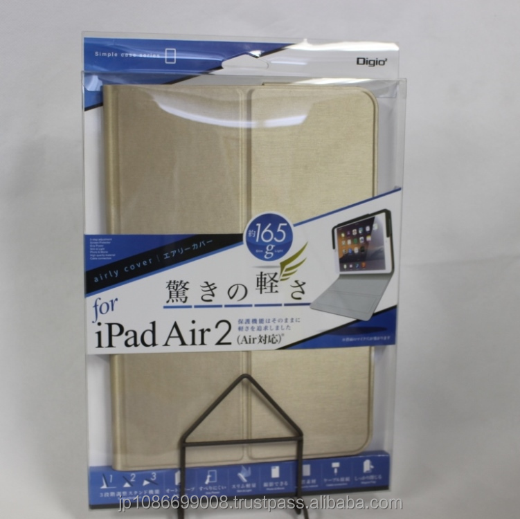 Luxury 2015 case for ipad pro with PU leather