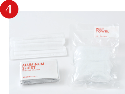 Japanese and Easy to use Emergency blanket THE SECOND AID at reasonable prices