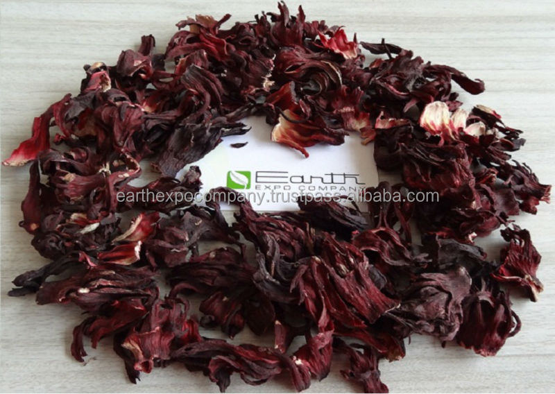 Dry hibiscus flower from nigeria