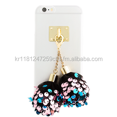 Spangle Ball Mobile case, Transparent PC case