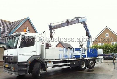 USED TRUCKS - ATEGO 2528-6X2 STAKE BODY TRUCK WITH CRANE (LHD 8617)