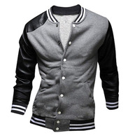 Unisex new Design 2017 Gray Cheap Custom Varsity Jackets/College Sweat Jacket Clothing