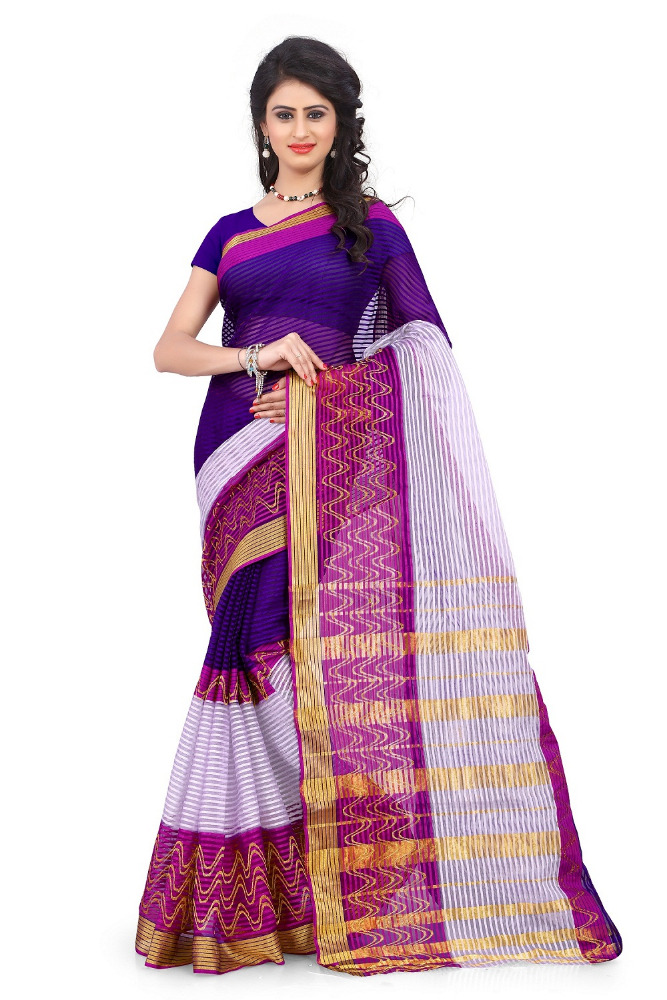 BENGAL POLLYESTER COTTON SAREE