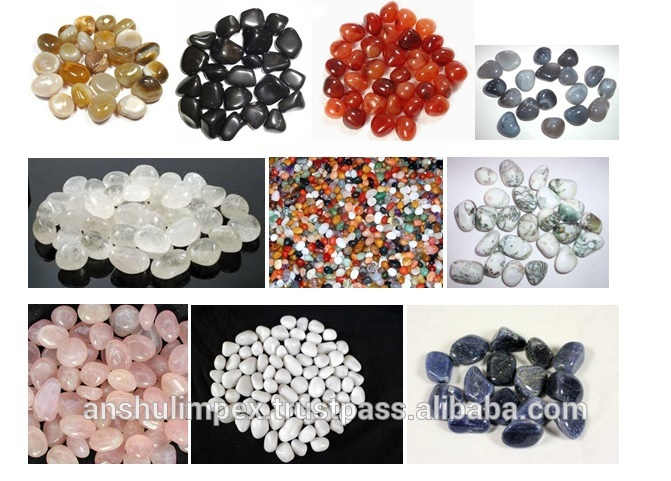 Polished White Pebbles for Landscaping and decoration