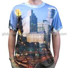 bulk full body print t shirt, sublimation printing t shirt fashion clothes for men 2016