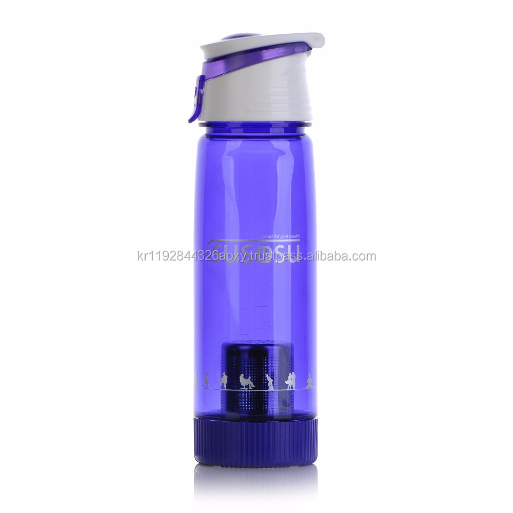 Portable Alkaline Rich Water Bottle/Alkaline water maker with Large Capacity 650ML