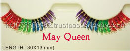 [May Queen] Flare eyelash for Strip eyelashes extension in Korean Maker (Model Number : TNB061) / Individual Eyelashes