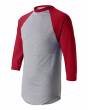 Three Quarter 3/4 Raglan Sleeve Baseball T Shirt