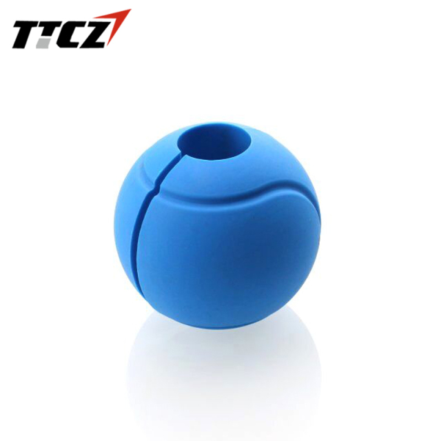 High Quality Silicone Fat Grips Globe Ball Rubber Protection for Dumbbell Kettlebell Barbell Fat Ball 1 Piece