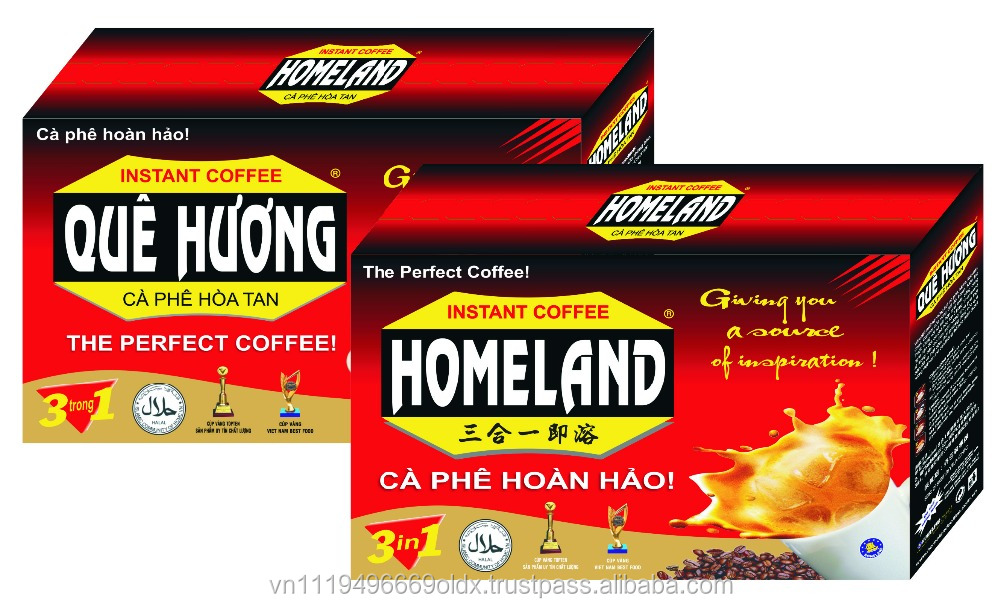 Homeland instan coffee