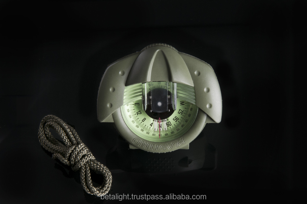 Tritium Illuminated Military Compass