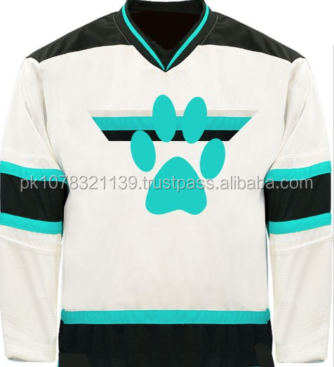 custom manufacturer ice hockey uniforms,hockey jerseys/shirt with sublimation, Design Ice Hockey Uniform