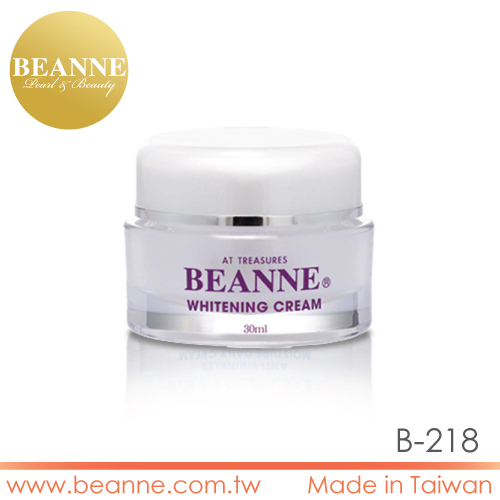 6B218 High Quality Natural Skin Lightening pearl whitening and spots removing cream