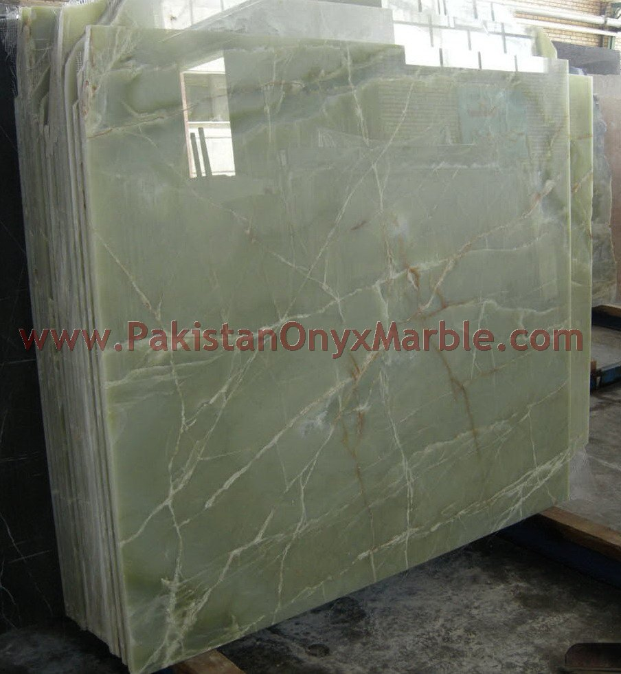 High Quality at Low Price Afghan Green onyx countertops