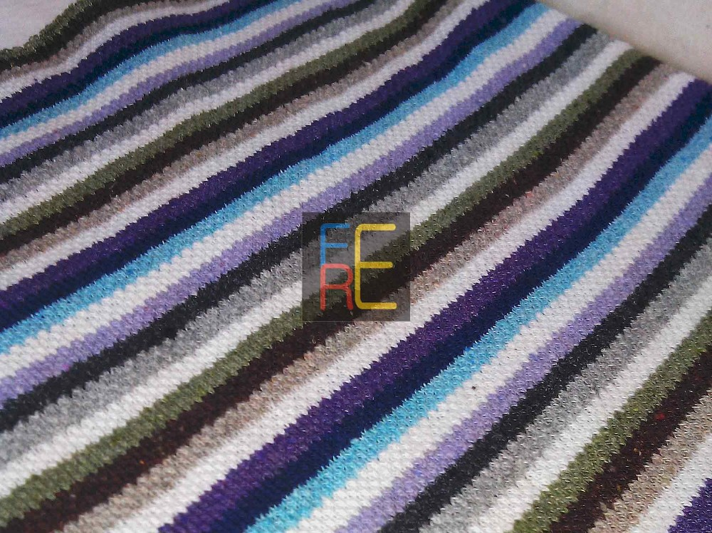 FERE BlueDesert Stream Stripe Cloth