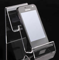 Mobile Phone Display Organic Glass ear 115x100x70mm 65mm 25mm 10PCs/Lot Sold By Lot