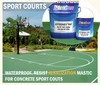 Waterproof Mastic, resist abrasion, alkalization for sport courts JOTEENES PAT