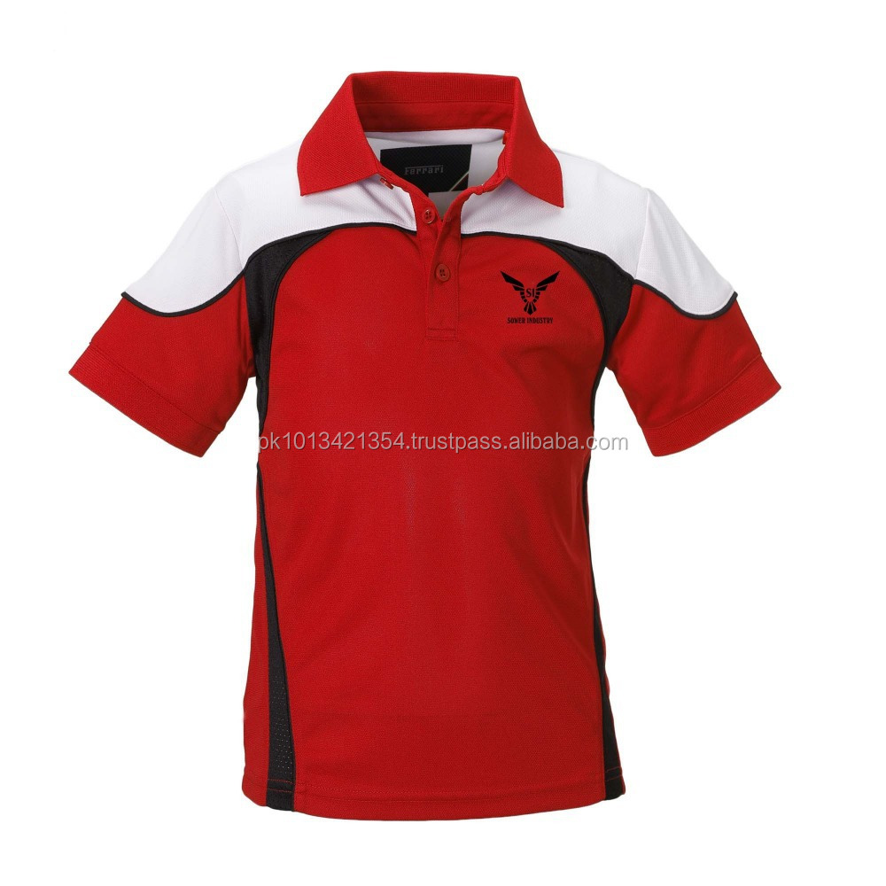 Polo Shirts Embroidery / Screen Printing