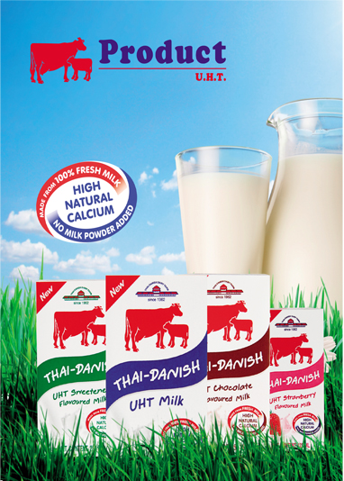 100% Pure Thailand Milk