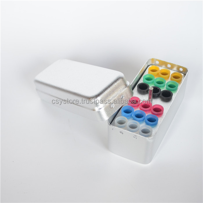 18-Slot Aluminum Gutta-Percha Disinfection Box