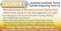 Lenticular Plastic Extrusion Cylinder Engraving Moulds by JacoTech