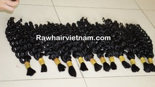 Strong fiber healthy hair virgin human hair weft dyed ease to any color